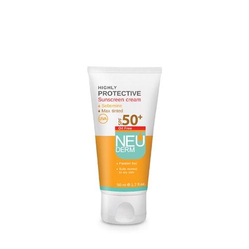 ضد آفتاب هایلی پروتکتیو فاقد چربی رنگ بژ