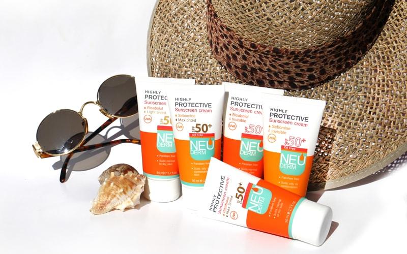 ضد آفتاب و مراقبت از پوست دست