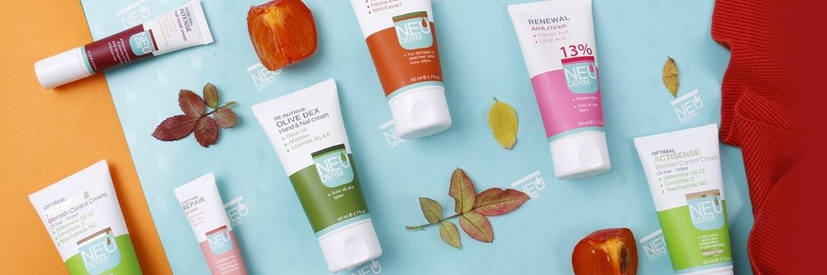 محصولات مراقبت از پوست چرب نئودرم