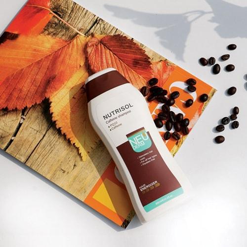 درمان ریزش مو و شامپو ضد ریزش مو کافئین نوتریسل نئودرم